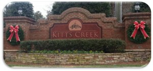 Kitts Creek 2016 Home Sales Summary